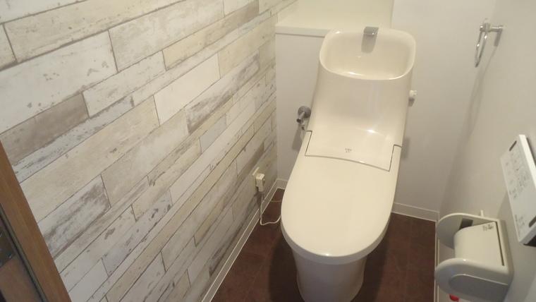 アクセントクロス トイレ 画像